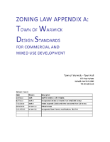 Architectural Design Standards for Commercial and Mixed Use Development