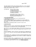 August 15, 2019 Town Board Meeting