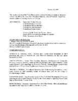 October 24, 2019 Town Board Meeting