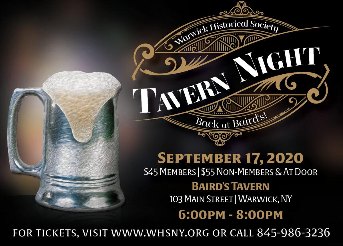 Historical Society Tavern Night