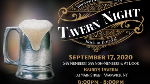 Historical Society Tavern Night